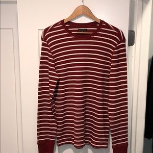 J. Crew Mercantile Long Sleeve Striped Thermal